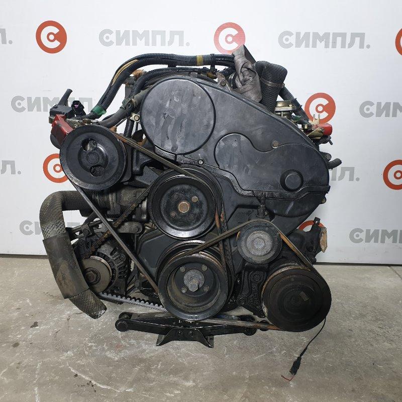 Двигатель Mitsubishi Pajero V24 4D56 1991 Пробег по Японии - 120,000км. Цена за мотор без (б/у)