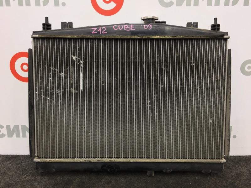 Радиатор охлаждения двигателя Nissan Cube Z12 HR15 2009 (б/у)