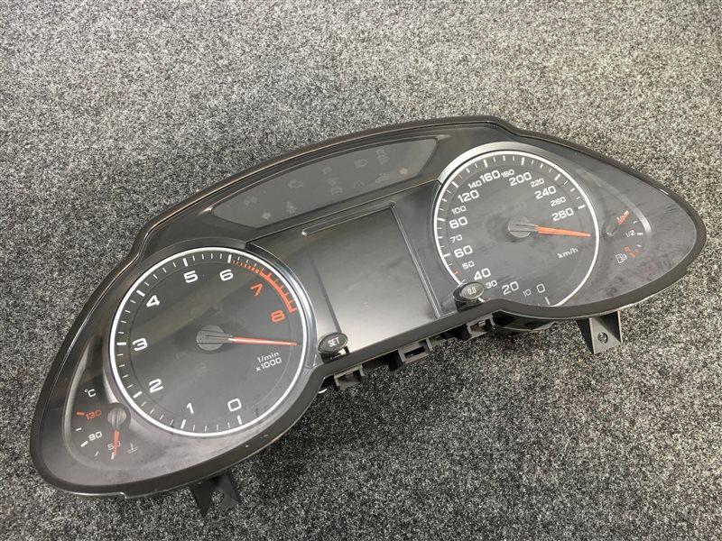 Панель приборов Audi Q5 8RB CDNC 2009 501932 Дефект крепления (см. фото). (б/у)