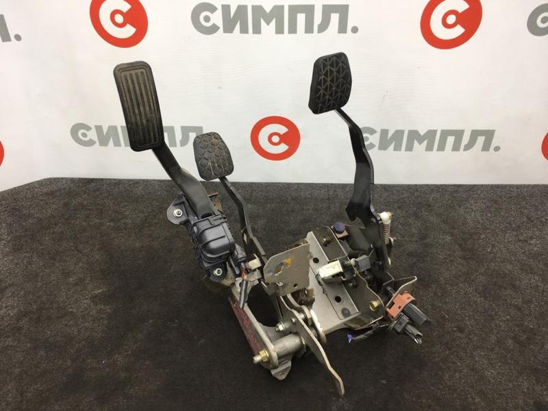 Педаль Mazda Demio DY3W ZJ 2006 Педальный узел (сцепление, тормоз, газ). Продается в сборе, (б/у)
