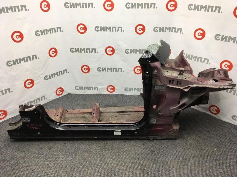 Порог кузовной Toyota Mark X GRX121 3GR-FSE 2005 правый Продается целиком, как на фото. (б/у)