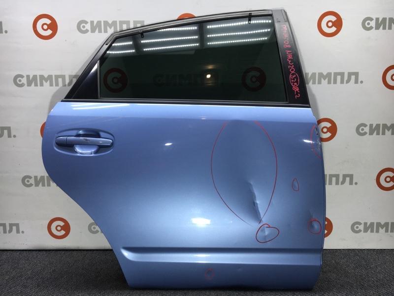 Стеклоподъемный механизм Toyota Prius NHW20 1NZ-FXE 2008 задний правый (б/у)