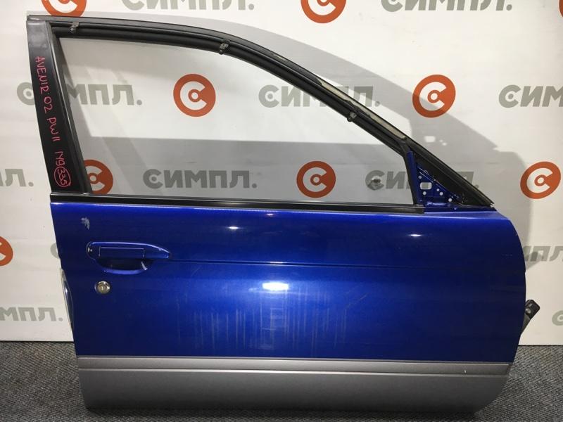 Дверь боковая Nissan Avenir VW11 SR20 2002 передняя правая Снят стеклоподъемник, стекло. Цена (б/у)