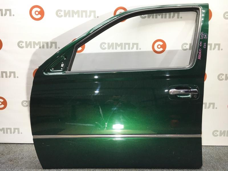 Дверь боковая Toyota Vista Ardeo SV50 3S-FSE 2000 передняя левая Дефект: вмятина на двери (см. (б/у)