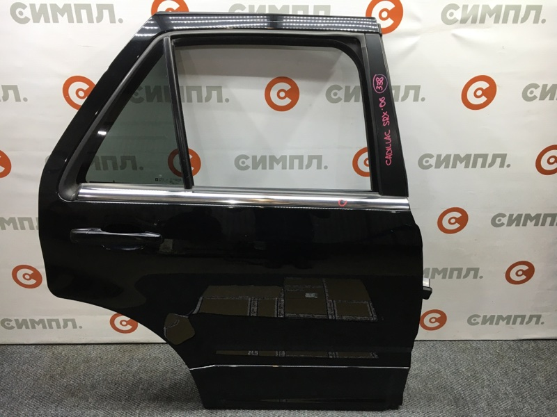 Стекло боковое Cadillac Srx 1GYEE63A560213883 LH2 2006 заднее правое (б/у)