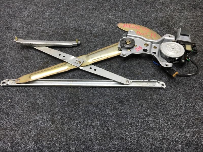 Стеклоподъемный механизм Nissan Avenir PW11 SR20 2002 передний левый (б/у)