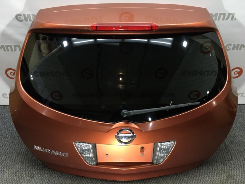 Дверь багажника Nissan Murano PZ50 VQ35 2004 Камера. (б/у)
