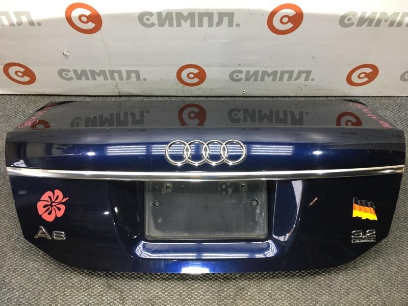 Крышка багажника Audi A6 4F2 AUK 2004 (б/у)