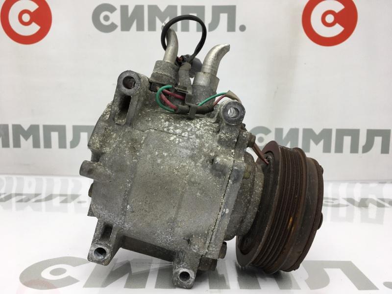 Компрессор кондиционера Honda Fit GD4 L15A 2003 (б/у)