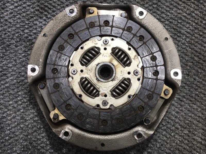 Сцепление Nissan Wingroad WFY11 QG15 2000 Корзина и диск сцепления. (б/у)