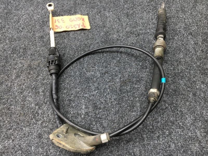 Тросик переключения кпп Toyota Passo KGC10 1KR 2006 (б/у)