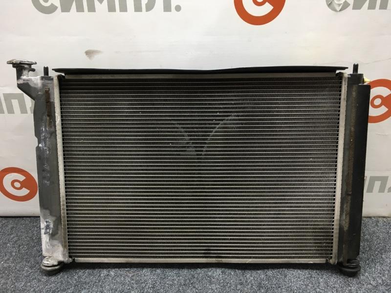 Радиатор охлаждения двигателя Toyota Opa ZCT15 1ZZ 2001 (б/у)