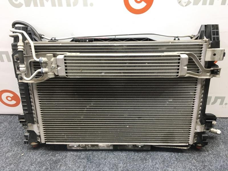 Радиатор кондиционера Mercedes-Benz B-Class T245 M266 E17 2006 Радиатор основной, радиатор (б/у)