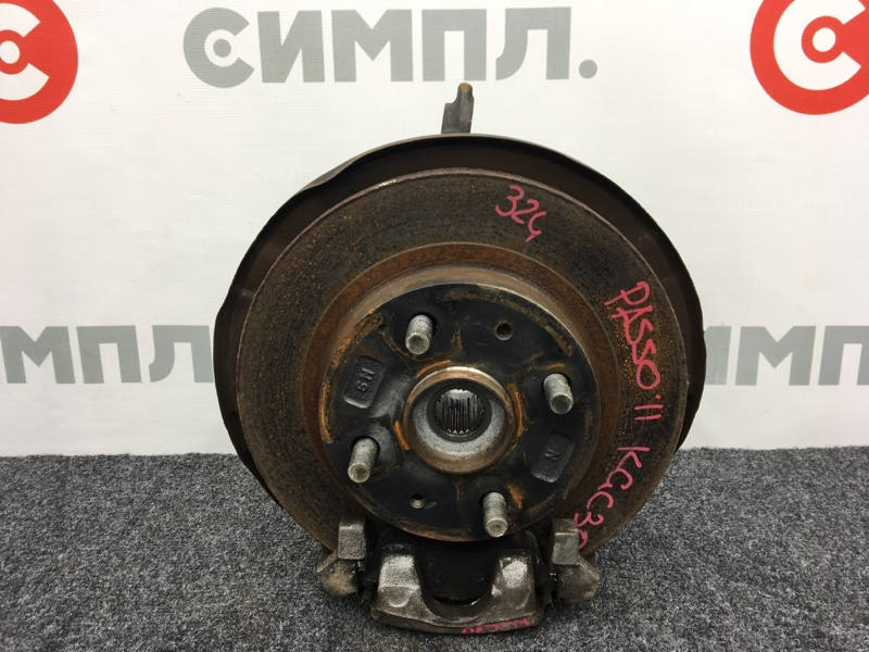 Датчик abs Toyota Passo KGC30 1KR 2011 передний правый (б/у)