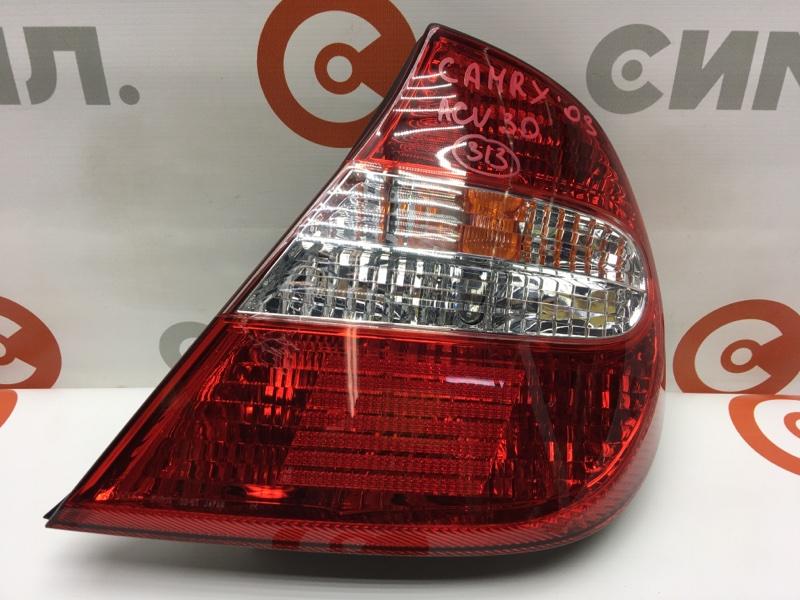 Задний фонарь Toyota Camry ACV30 2AZ 2003 задний правый 33-67 Дефект: царапины на пластике (см. (б/у)
