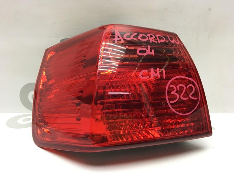 Задний фонарь Honda Accord CM1 K20A 2004 задний левый P3226 1-я модель. (б/у)