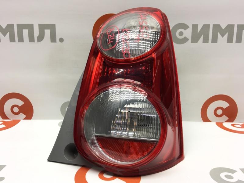 Задний фонарь Toyota Passo KGC30 1KR 2011 задний правый 220-51004 (б/у)