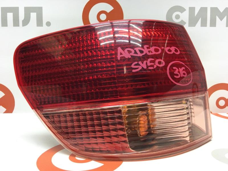 Задний фонарь Toyota Vista Ardeo SV50 3S-FSE 2000 задний левый 32-177 Рестайл. Универсал. (б/у)