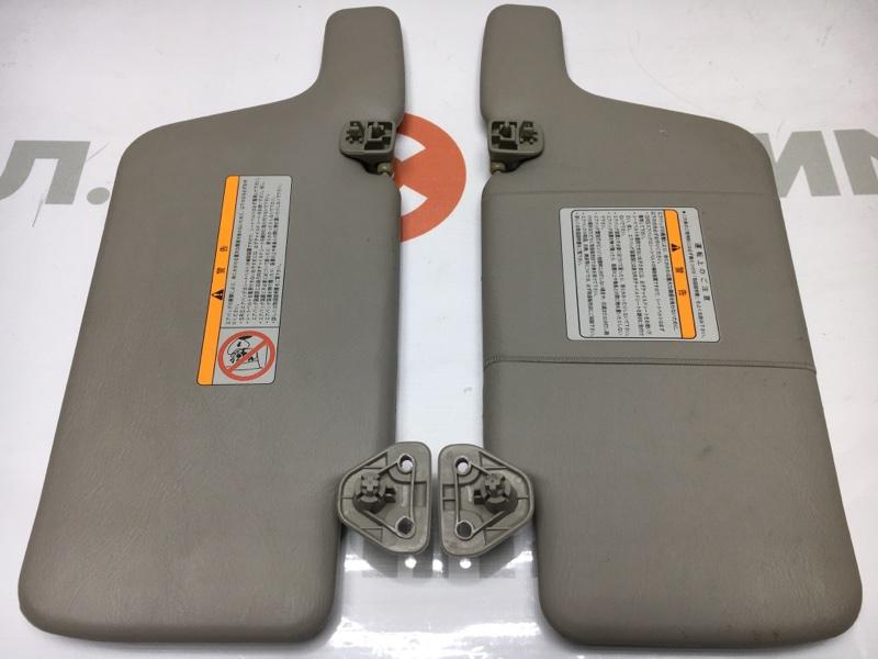 Козырек солнцезащитный Nissan Wingroad WFY11 QG15 2000 Продаются парой. (б/у)