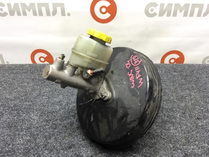 Вакуумный усилитель тормозов Nissan Wingroad WFY11 QG15 2004 Дефект фишки (см. фото) Правый (б/у)