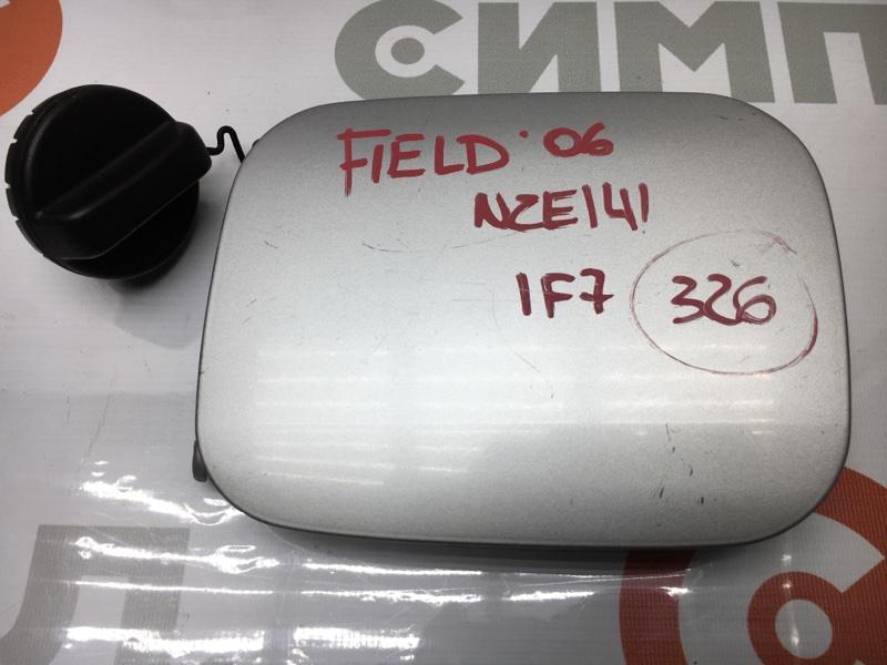Лючок топливного бака Toyota Corolla Fielder NZE141 1NZ 2006 С крышкой бензобака. (б/у)