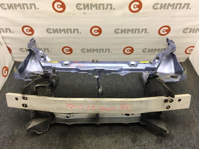 Рамка радиатора Toyota Prius NHW20 1NZ-FXE 2008 Дефект: немного подмята нижняя часть (см. (б/у)