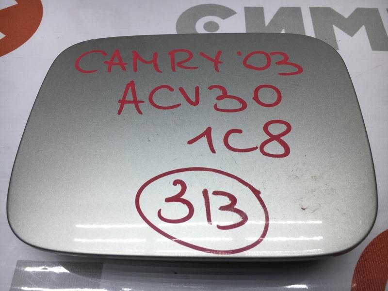 Лючок топливного бака Toyota Camry ACV30 2AZ 2003 Дефект крепления. (б/у)