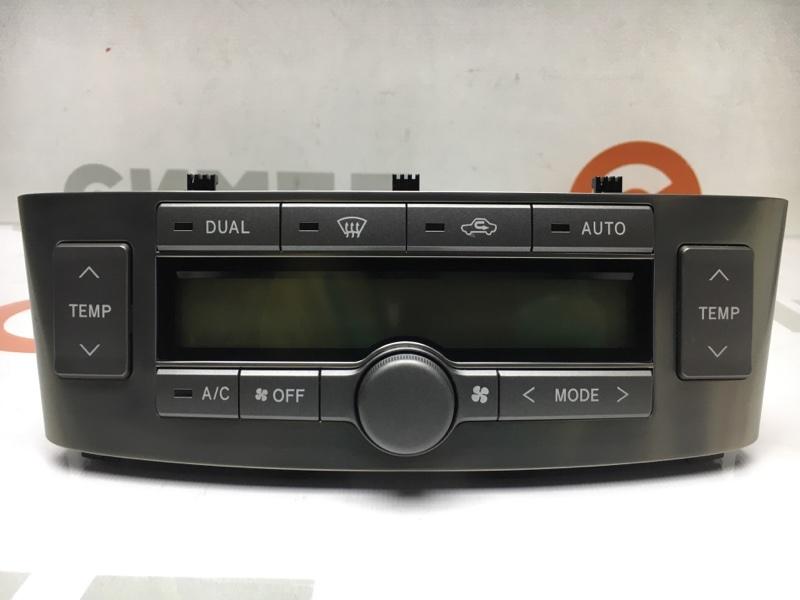 Блок управления климат-контролем Toyota Avensis AZT250 1AZ-FSE 2004 (б/у)