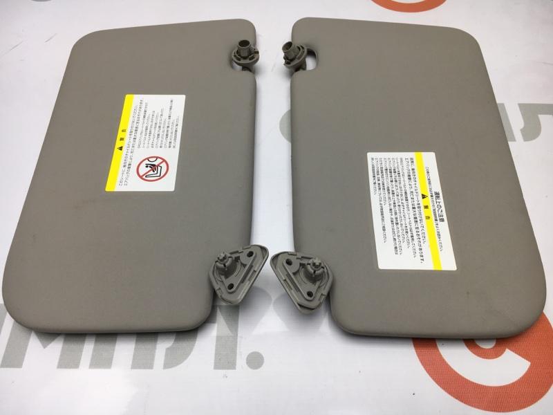Козырек солнцезащитный Nissan X-Trail NT31 MR20DE 2009 Продаются парой. Цена за штуку. (б/у)