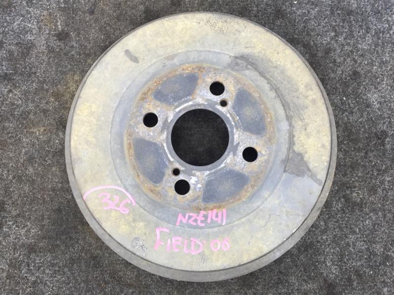 Барабан тормозной Toyota Corolla Fielder NZE141 1NZ 2006 задний правый (б/у)