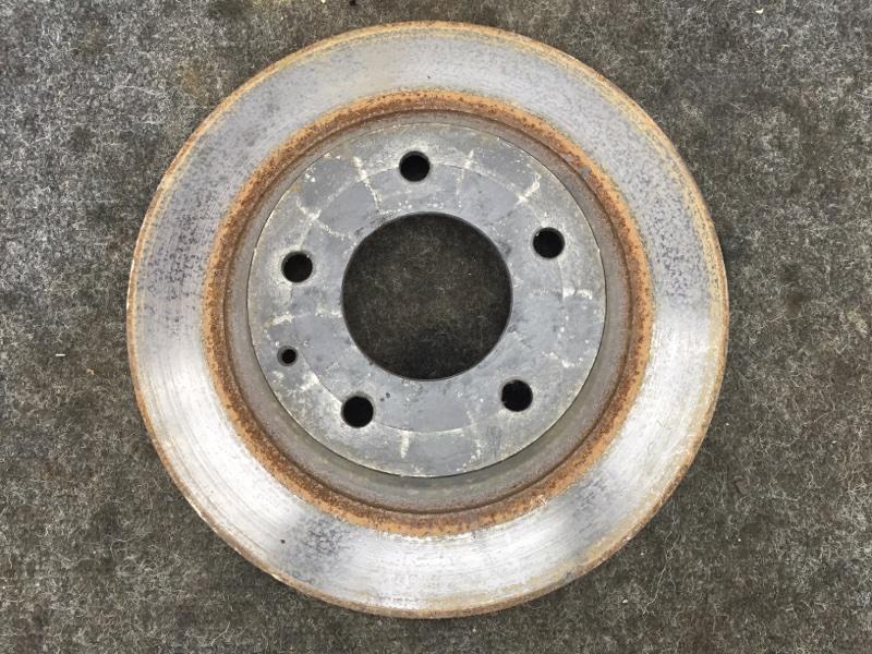 Диск тормозной Mazda Atenza GH5FS L5 2008 задний правый (б/у)
