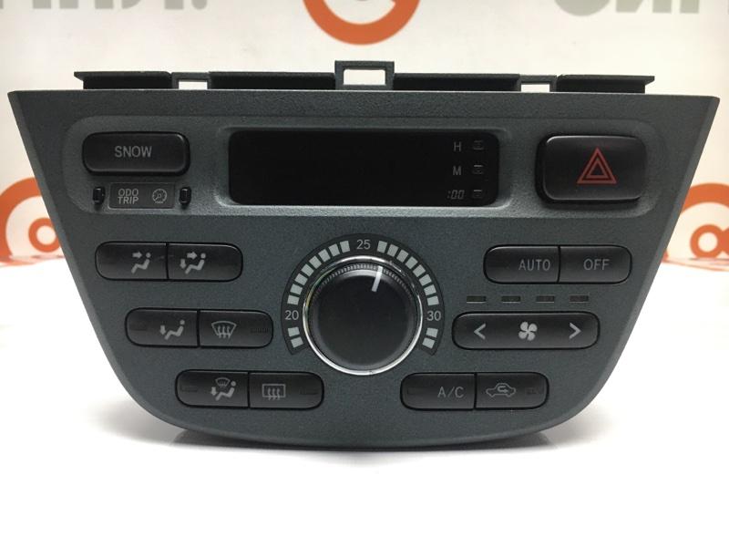 Блок управления климат-контролем Toyota Opa ZCT15 1ZZ 2001 (б/у)