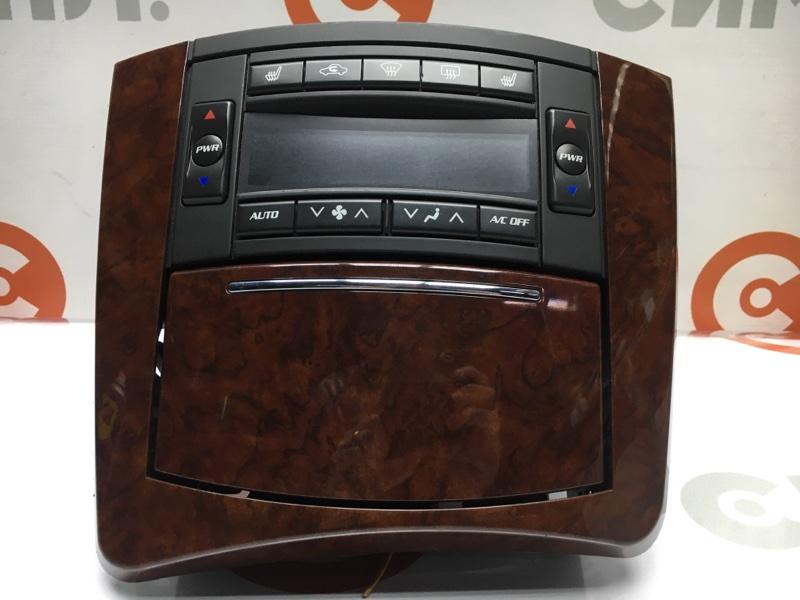 Блок управления климат-контролем Cadillac Srx 1GYEE63A560213883 LH2 2006 (б/у)