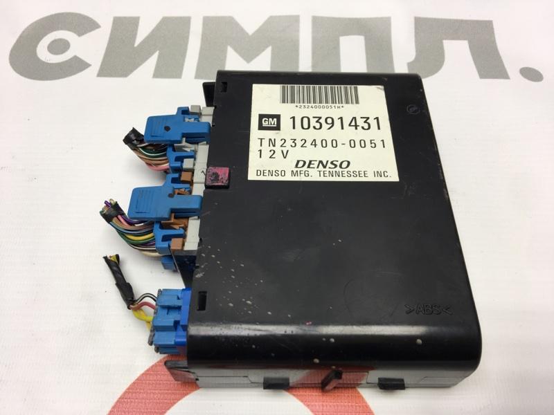 Блок электронный Cadillac Srx 1GYEE63A560213883 LH2 2006 10391431 50 ящик. Блок комфорта. (б/у)