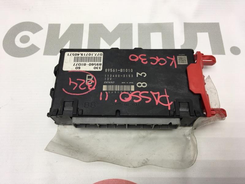 Блок управления двс Toyota Passo KGC30 1KR 2011 50 ящик. (б/у)