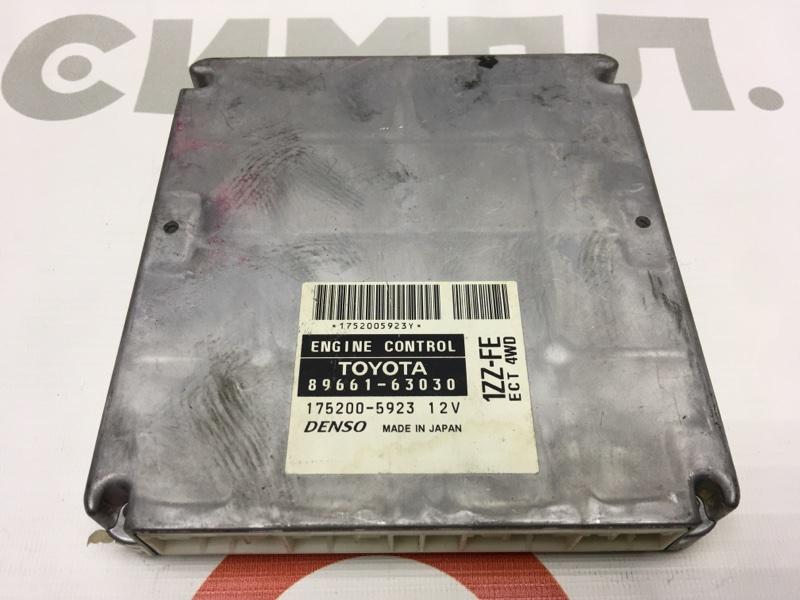 Блок управления двс Toyota Opa ZCT15 1ZZ 2001 50 ящик. (б/у)