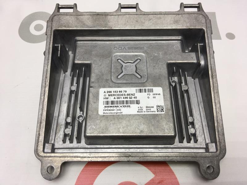 Блок управления двс Mercedes-Benz B-Class T245 M266 E17 2006 50 ящик. (б/у)