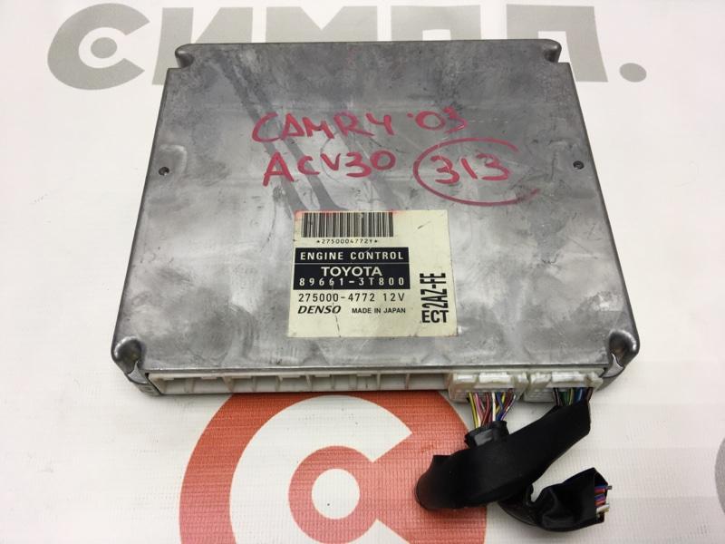 Блок управления двс Toyota Camry ACV30 2AZ 2003 50 ящик. (б/у)
