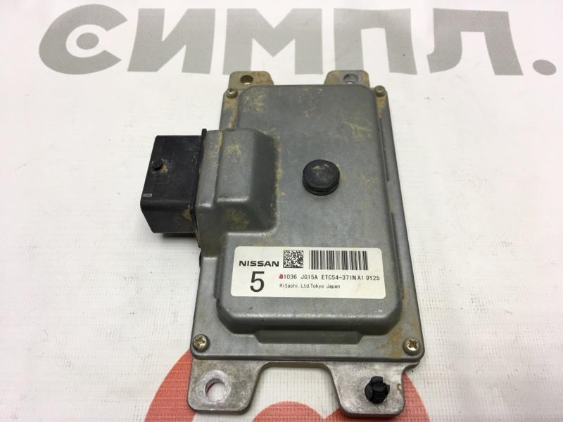 Блок управления акпп Nissan X-Trail NT31 MR20DE 2009 ETC54-371N A1 9Y25 50 ящик. (б/у)