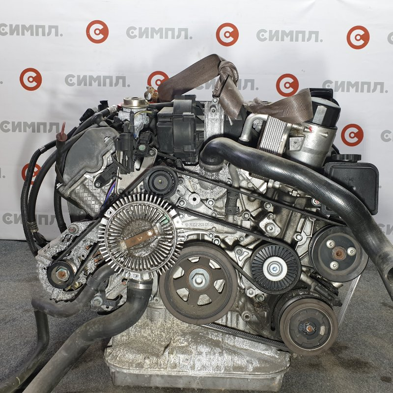 Двигатель Mercedes-Benz Ml350 WDC1631572A476524 112 97031611062 2004 Пробег по Японии 106,000км. (б/у)