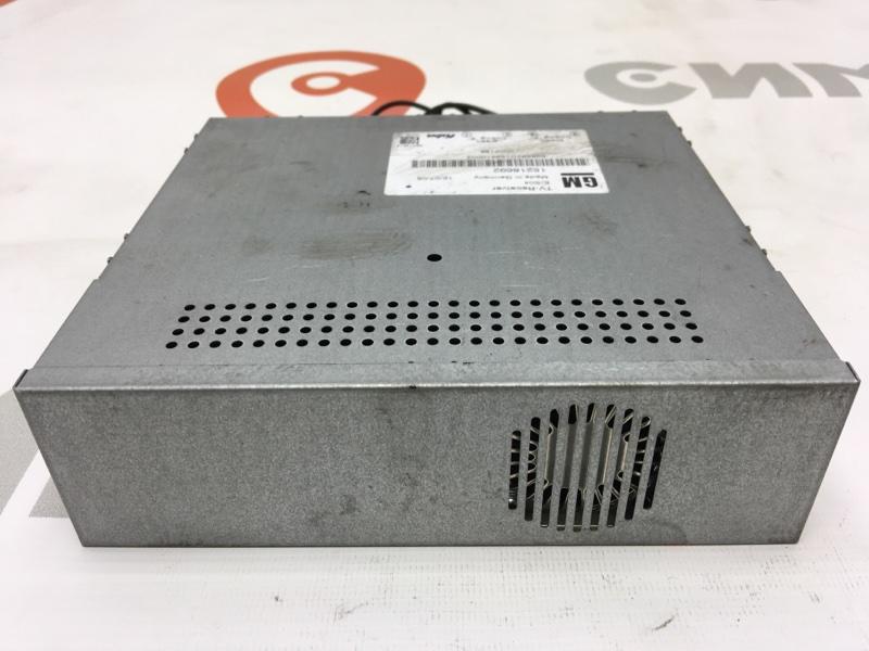 Блок электронный Cadillac Srx 1GYEE63A560213883 LH2 2006 15218692 50 ящик. TV-Ресивер. (б/у)