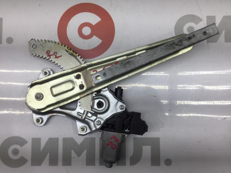 Стеклоподъемный механизм Nissan Juke YF15 HR15 2011 задний правый (б/у)