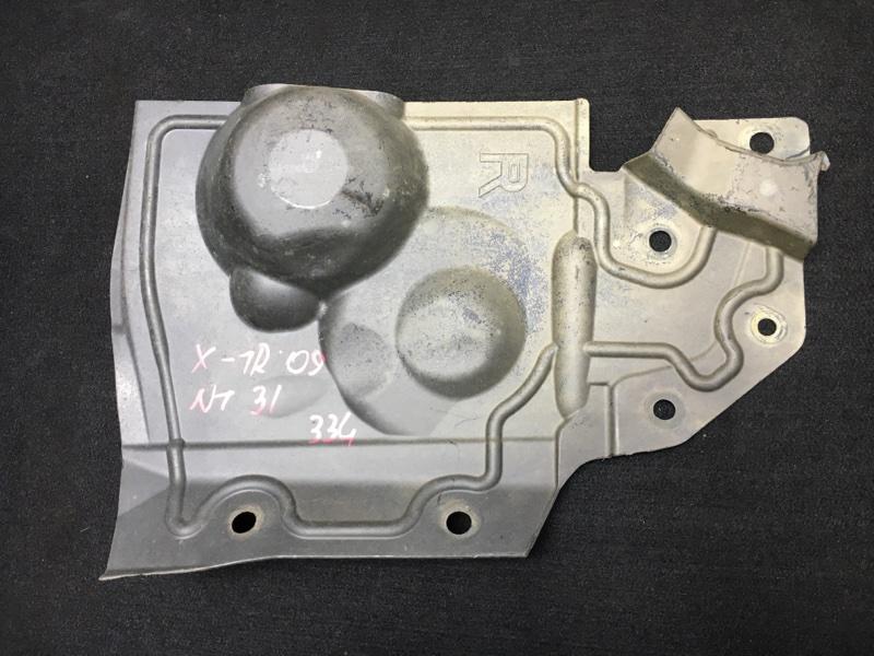 Защита двигателя Nissan X-Trail NT31 MR20DE 2009 передняя правая (б/у)