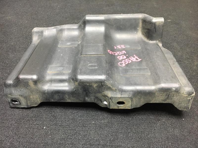 Защита двигателя Toyota Passo KGC10 1KR 2006 передняя правая (б/у)