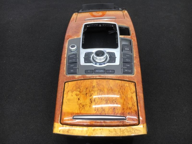Консоль кпп Audi A6 4F2 AUK 2004 Продается в сборе с блоком управления мультимедийной  (б/у)