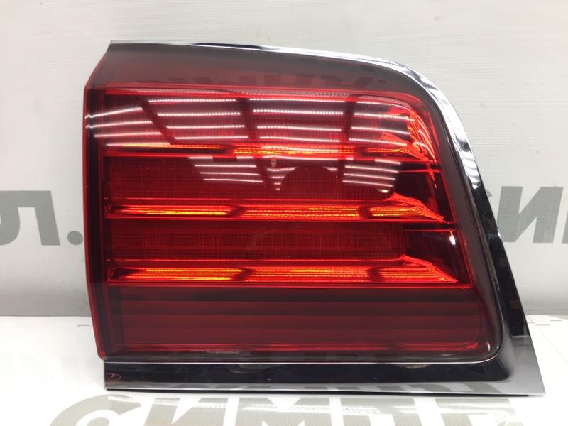 Задний фонарь Lexus Lx570 URJ201 3UR 2008 задний левый 60-147 В дверь багажника. (б/у)