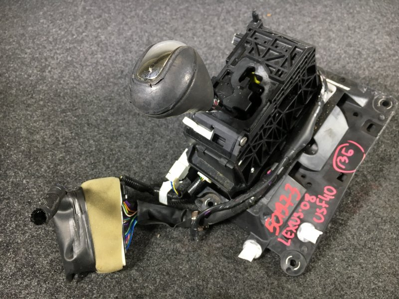 Рычаг переключения кпп Lexus Ls460 USF40 1UR 2008 501973 Потертости (см. фото). (б/у)