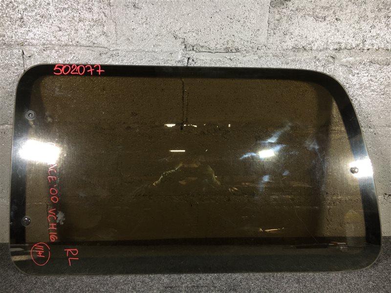 Стекло собачника Toyota Grand Hiace VCH16 5VZ 2000 заднее левое 502077 (б/у)