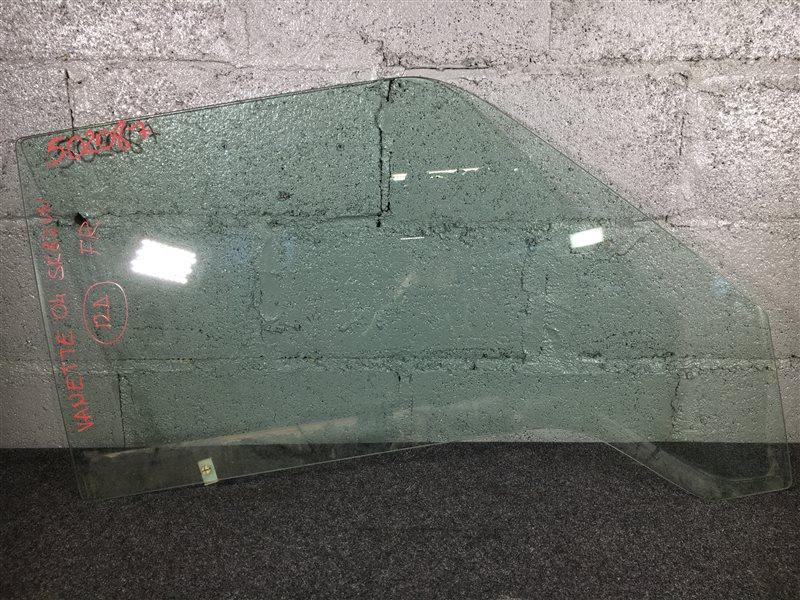 Стекло боковое Nissan Vanette SK82M R2 2004 переднее правое 502087 (б/у)