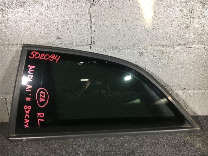 Стекло собачника Audi A1 8XA CAXA 2011 заднее левое 502094 3-х дверный автомобиль. (б/у)